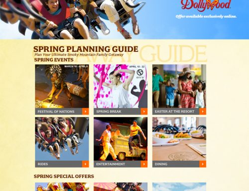 Make Your Dollywood Trip Easier…Use this Spring Break Guide