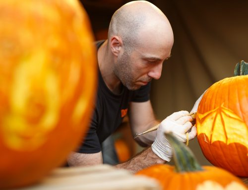 How to Pretend to Carve a Pumpkin Like the Pros