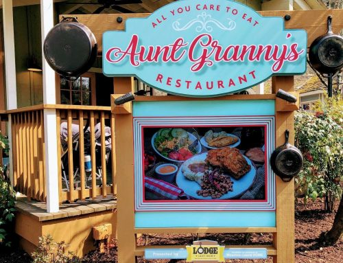Cast with Love: Explore the new Aunt Granny's Restaurant