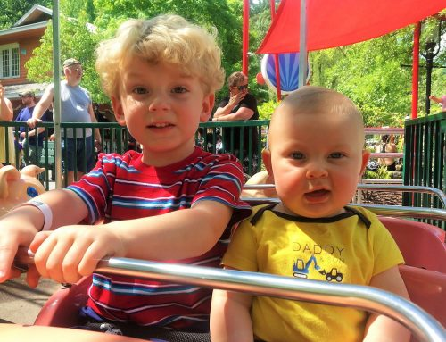 Visiting Dollywood with a Baby in Tow