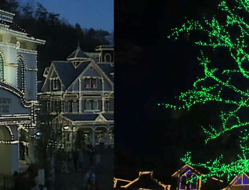 1990 Smoky Mountain Christmas vs. 2019 Smoky Mountain Christmas