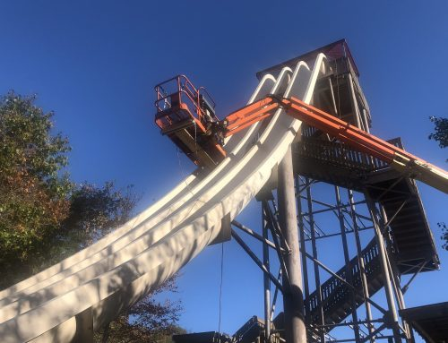 Off-Season Update: Fire Tower Falls Receives New Gel Coating