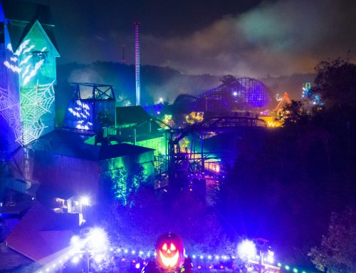 Day vs Night: Dollywood during Harvest Festival