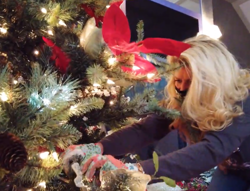 VIDEO: Decking the Halls of Dollywood's Resort
