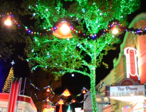 Dollywood's Christmas Color Zones Explained