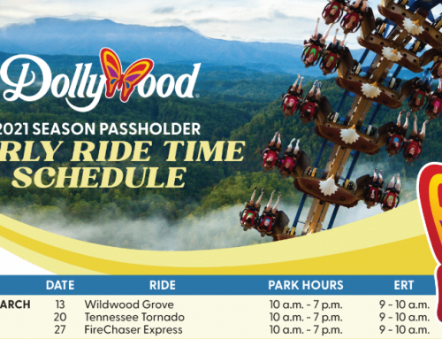 Dollywood Early Ride Times 2021