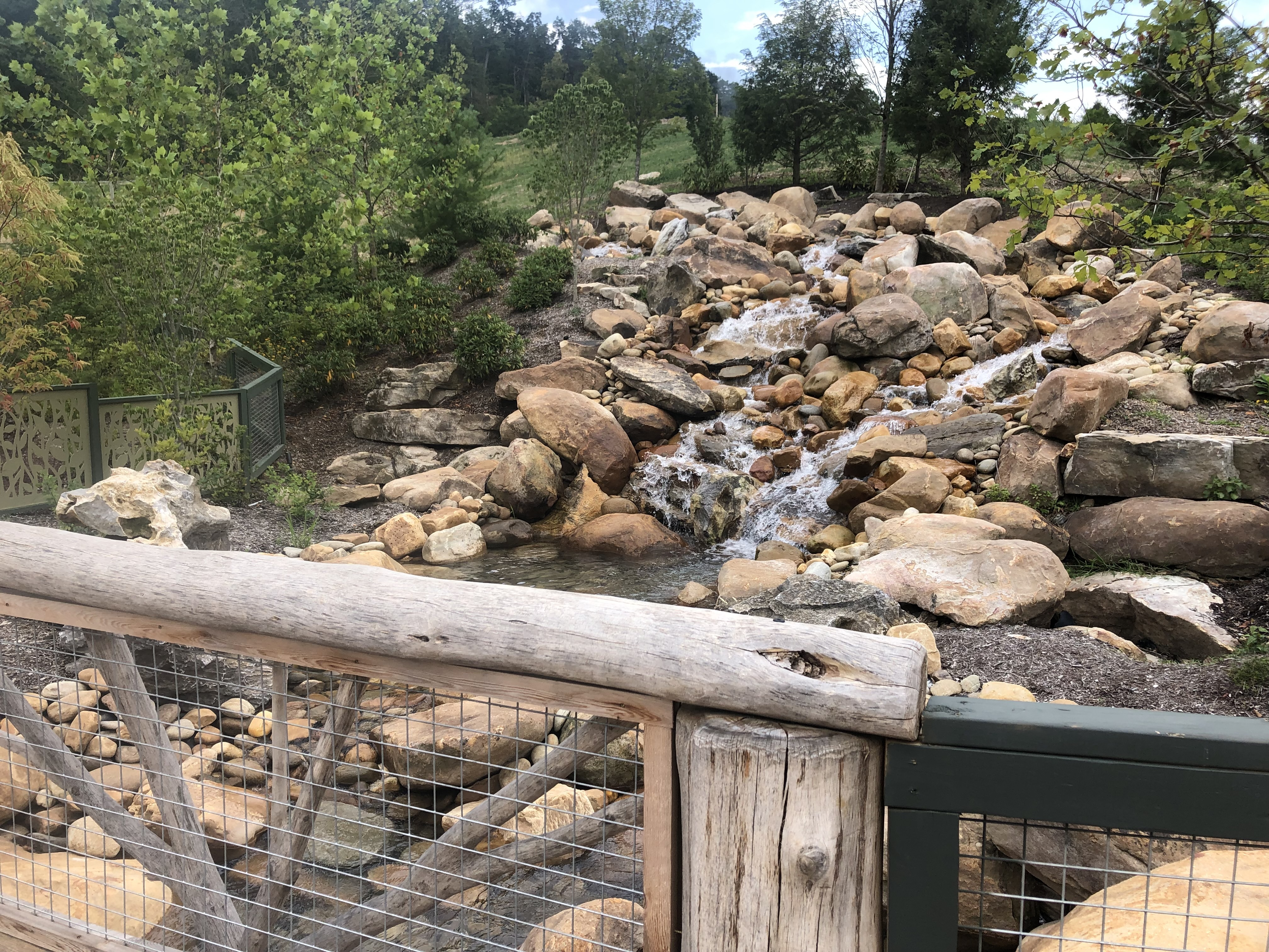 Wildwood Creek at Dollywood is inspired by Roaring Fork Motor Nature Trail